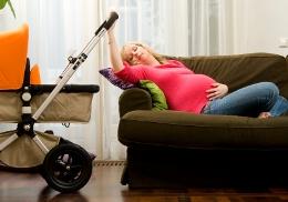 Schwangerschaft und nebenwirkungen, Müdigkeit